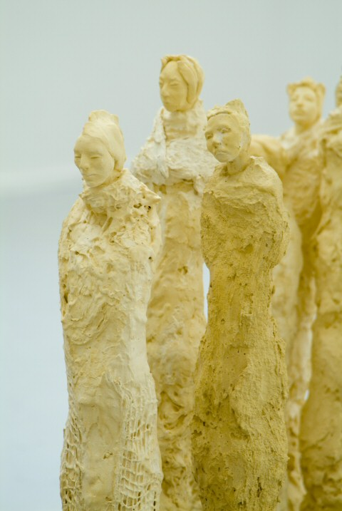 These sculptures were inspired by my Silk Road journeys in China