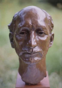 The Actor - bronze bust - Click here for a larger images and details