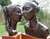 Click here for figurative sculpture - portrait or bust commission examples